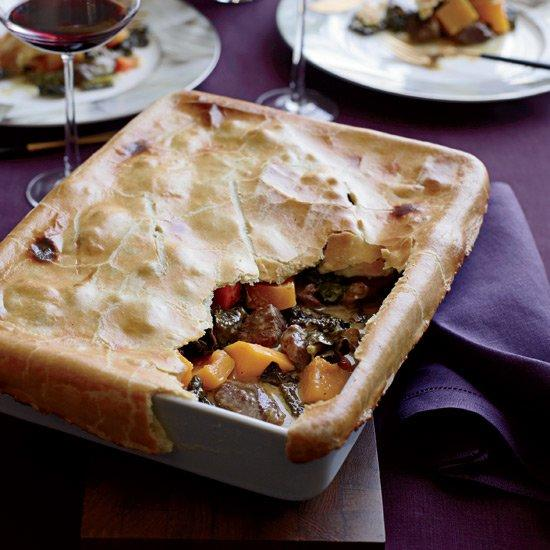 """<p>Matthew Accarrino's unconventional but perfectly satisfying potpie is filled with coconut-spiked curried lamb.</p><p><a href=""""https://www.foodandwine.com/recipes/curried-lamb-potpie"""">GO TO RECIPE</a></p>"""