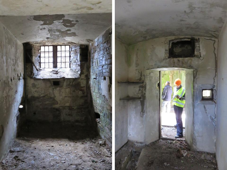 Diptych Bodmin Jail Cell