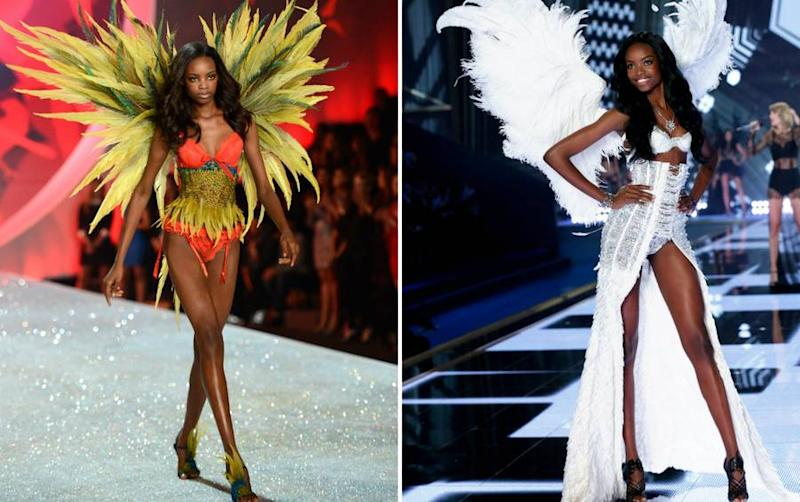 This Model Just Brought Natural Hair to the Victoria's Secret Runway for the First Time