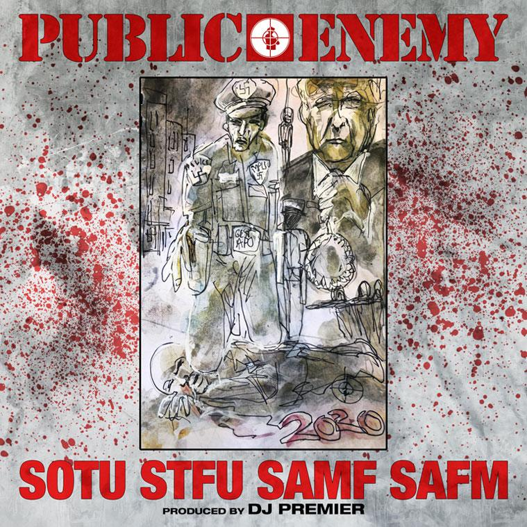 """Public Enemy's """"State of the Union (STFU)"""""""