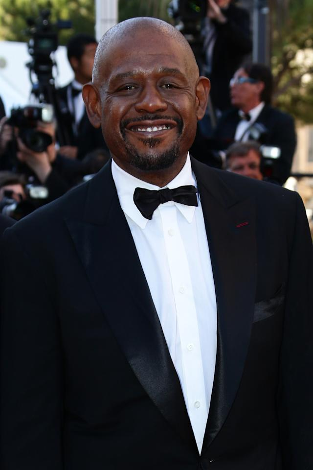 CANNES, FRANCE - MAY 26:  Actor Forest Whitaker attends the 'Zulu' Premiere and Closing Ceremony during the 66th Annual Cannes Film Festival at the Palais des Festivals on May 26, 2013 in Cannes, France.  (Photo by Vittorio Zunino Celotto/Getty Images)
