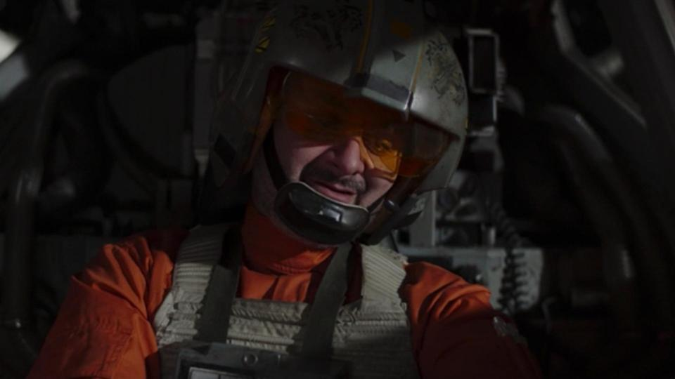 <p> <strong>Episode 2</strong> </p> <p> It's easy to forget where The Mandalorian is set on the Star Wars timeline. We got a quick reminder this week thanks to pilots Captain Carson Teva and Trapper Wolf. They've been patrolling the Outer Rim and are especially wary of anyone who doesn't have their transponder on – they're clearly still looking for remnants of the Empire. </p> <p> Trapper Wolf, though, is the most interesting of the pair. He's played by Dave Filoni, showrunner of Star Wars: Rebels and The Clone Wars. He even appeared in the first season, so it's nice to see him making a return – especially in the iconic X-Wing. </p>