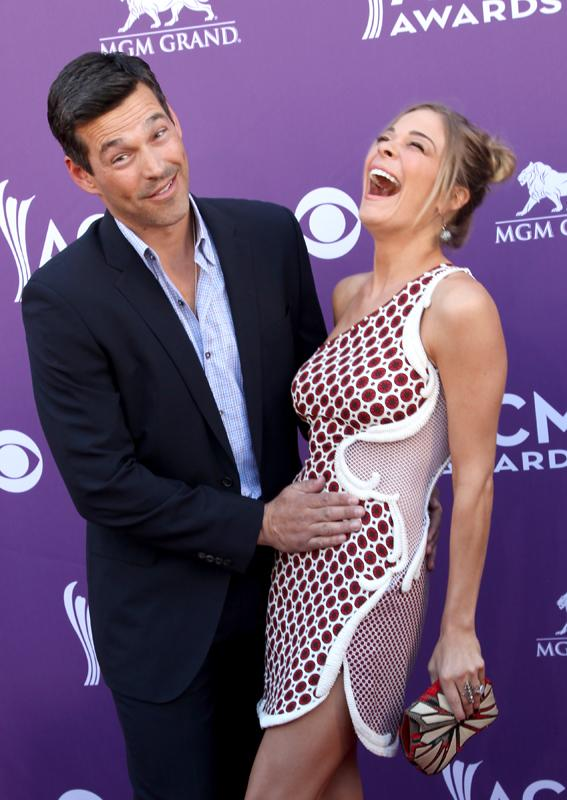 EDDIE CIBRIAN AND LEANN RIMES, Live from the RAM Red Carpet, 47th Annual ACM Awards, Las Vegas, NV