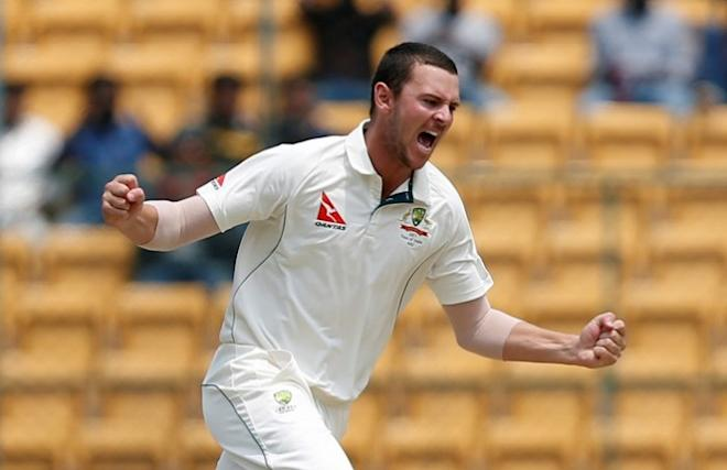 Josh Hazlewood, Australia, India, 2nd Test, Day 3