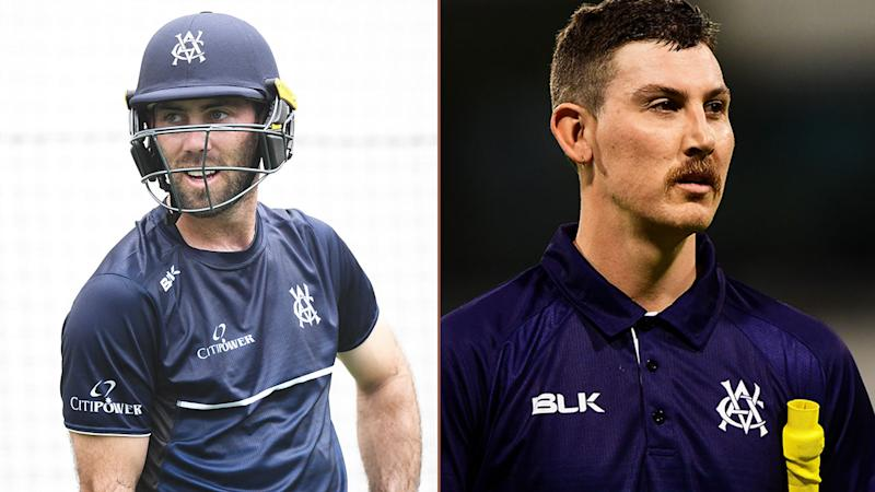 Glenn Maxwell (L) and Nic Maddinson have both spoken out about their mental health battles.