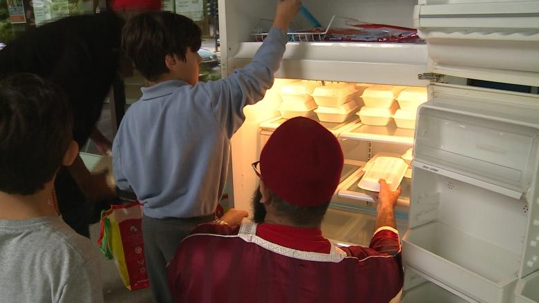 Community fridge in Little Burgundy offers a Ramadan lesson in giving