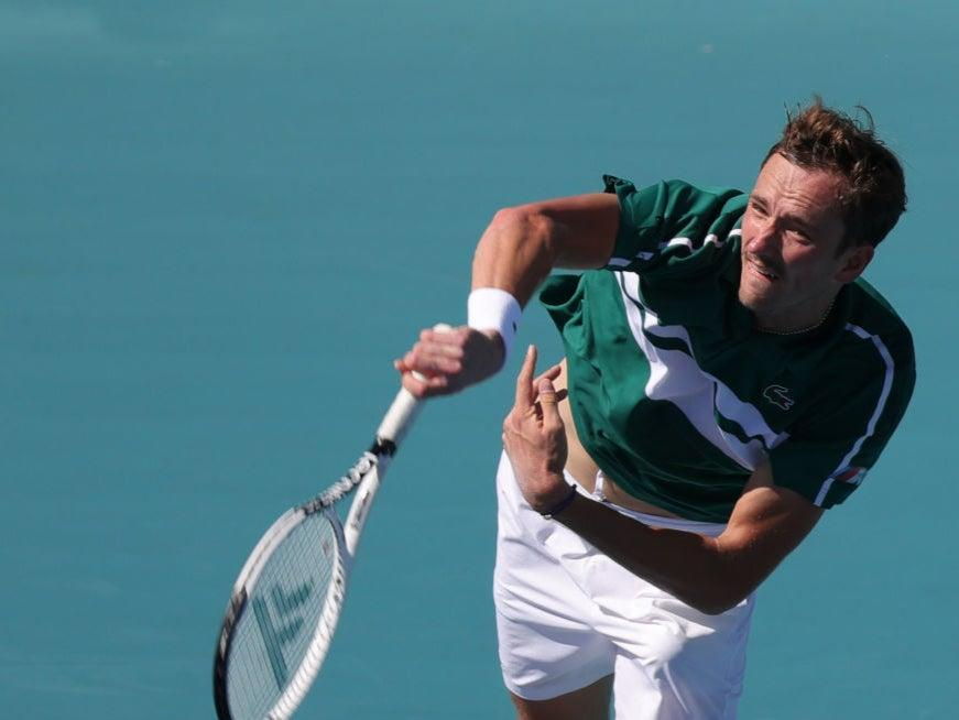 <p>Daniil Medvedev has contracted Covid-19</p> (Getty Images)