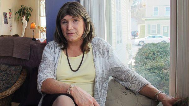 Christine Hallquist, a transgender utility executive seeking the Democratic nomination to run for governor of Vermont, talks about her candidacy on Wednesday Feb. 21, 2018 in Johnson, Vt. (AP)