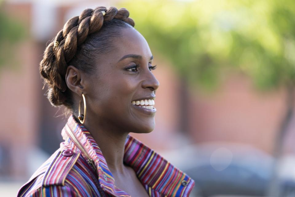 """Season four is coming! Issa Rae dropped the trailer on January 15, <a href=""""https://twitter.com/IssaRae/status/1217499755934183426"""" rel=""""nofollow noopener"""" target=""""_blank"""" data-ylk=""""slk:writing on Twitter,"""" class=""""link rapid-noclick-resp"""">writing on Twitter,</a> """"It's 2020 girl, where TF is @insecurehbo?"""" Issa and her group of girlfriends with messy love lives and relatable career drama are most welcome in a time when we're all conducting business (both personal and professional) from our couches. <em>10 p.m. ET on HBO.</em>"""