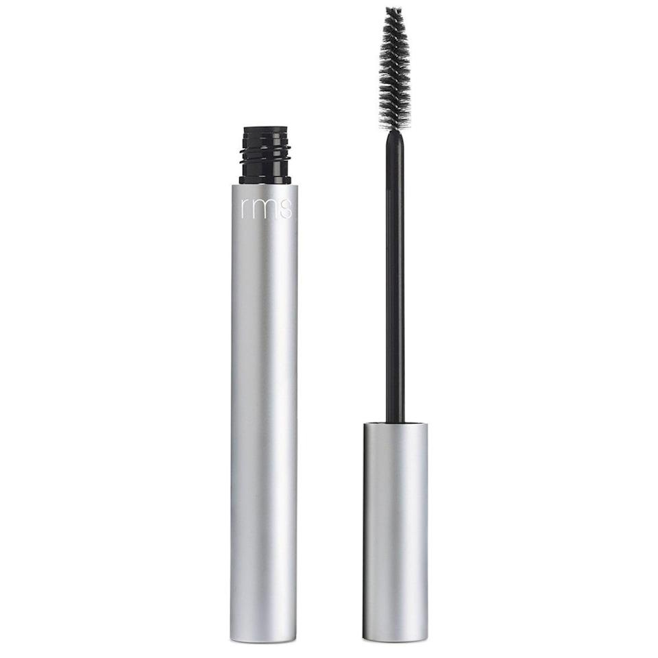 <p>The long-wearing <span>rms Beauty Volumizing Mascara</span> ($28) adds drama and conditioning benefits to your lashes.</p>