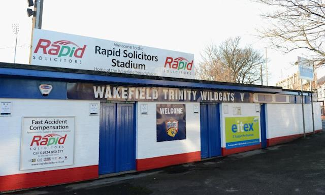 "<span class=""element-image__caption"">Wakefield are spending their final season at Belle Vue and may well spend next season at nearby Dewsbury.</span> <span class=""element-image__credit"">Photograph: Gareth Copley/Getty Images</span>"