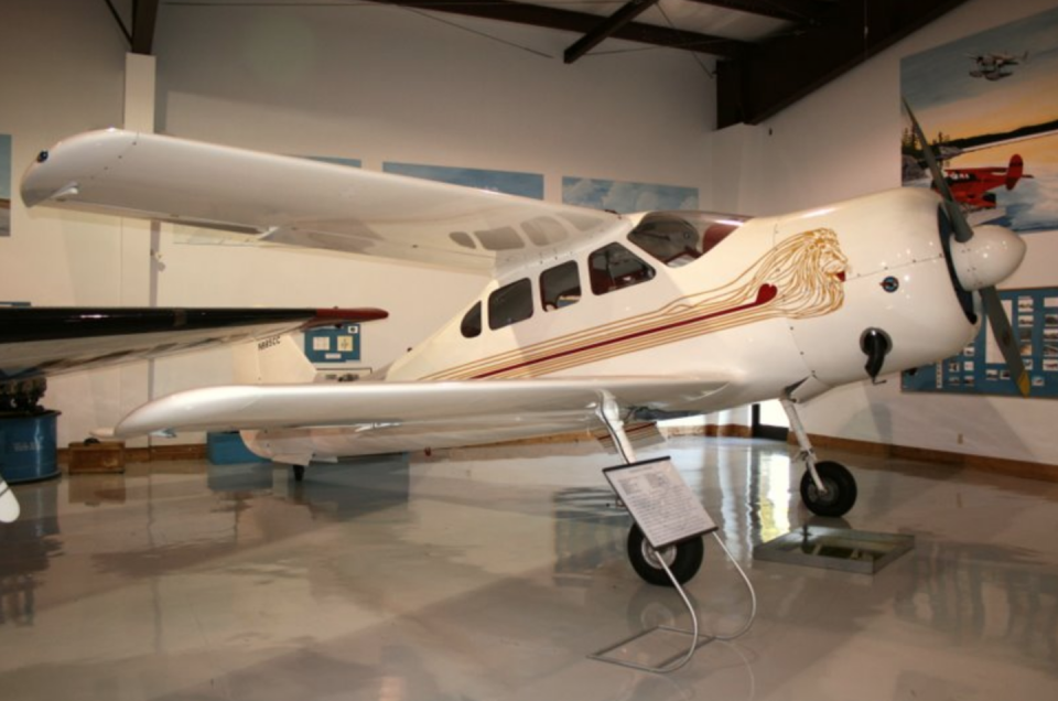 """<p>A retro design <a href=""""http://www.airbum.com/pireps/PirepLionheart.html"""" rel=""""nofollow noopener"""" target=""""_blank"""" data-ylk=""""slk:inspired by the classic Beechcraft Staggerwing"""" class=""""link rapid-noclick-resp"""">inspired by the classic Beechcraft Staggerwing</a> of the 1930s, the Lionheart homebuilt aircraft uses updated technology and materials to improve upon a much-loved old classic. Powered by the same basic engine as the Staggerwing, the <a href=""""https://www.griffonaerospace.com/systems/lionheart/"""" rel=""""nofollow noopener"""" target=""""_blank"""" data-ylk=""""slk:carbon fiber Lionheart"""" class=""""link rapid-noclick-resp"""">carbon fiber Lionheart</a> is sleeker, faster, and can fly farther. Only a few of them were ever built. </p>"""