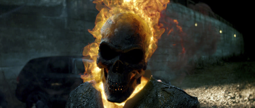 "Columbia Pictures' <a href=""http://movies.yahoo.com/movie/ghost-rider-spirit-of-vengeance/"">Ghost Rider: Spirit of Vengeance</a> - 2012"