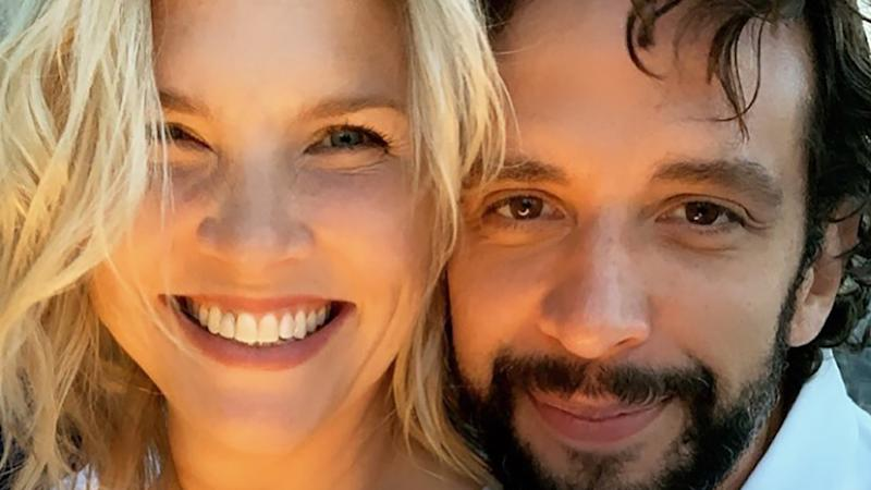 Amanda Kloots has revealed that she's been 'told to say goodbye' to her husband Nick Cordero who has been battling a constant stream of coronavirus-related complications. Photo: Instagram/Nick Cordero