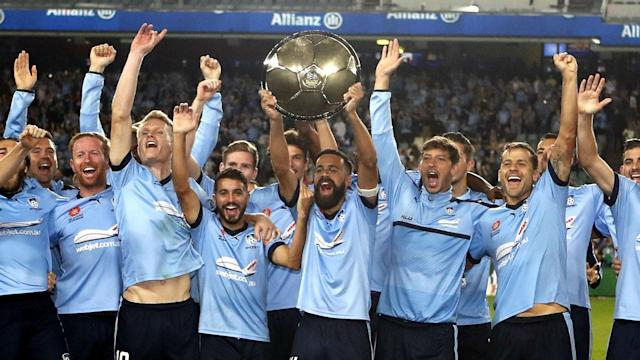 Milos Ninkovic was on target as Sydney FC set a new A-League points record versus Newcastle Jets but the playmaker suffered an injury scare.
