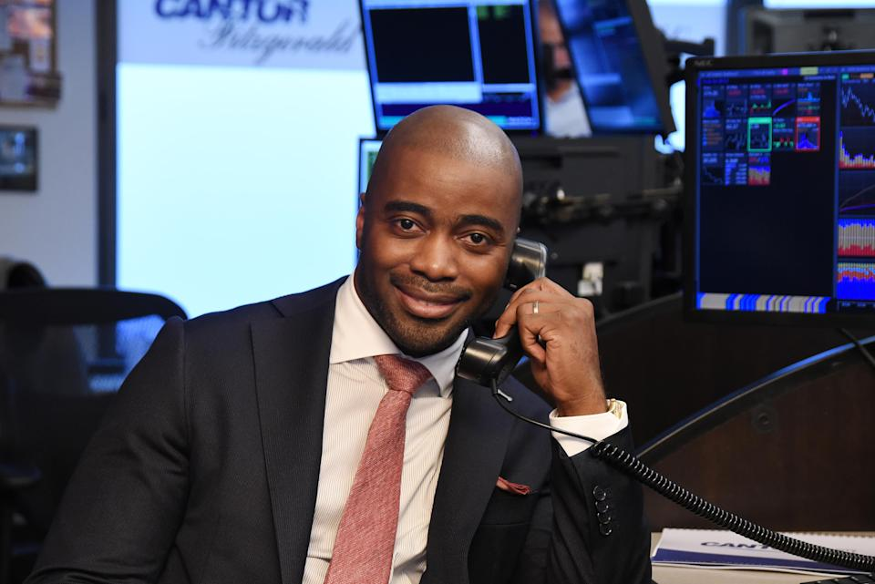 Hall of Fame running back Curtis Martin will be honored Monday evening at the Coalition Against Trafficking Women's gala in New York. (Getty Images)