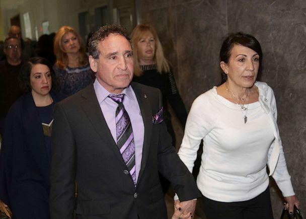 PHOTO: Phillip and Catherine Vetrano, parents of Karina Vetrano, arrive at court in New York, March 20, 2019. (Seth Wenig/AP, FILE)
