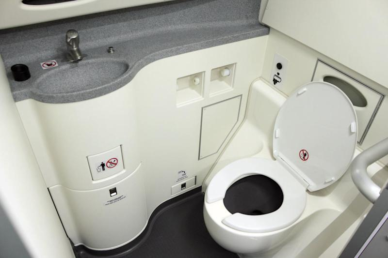 A passenger is believed to have caught coronavirus in a plane toilet: Getty Images/iStockphoto