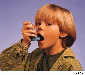 mother's job can increase child asthma risk