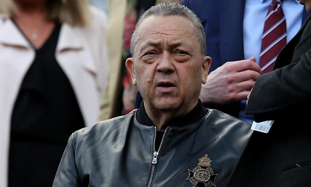 David Sullivan's influence over transfers will be reduced, says David Moyes