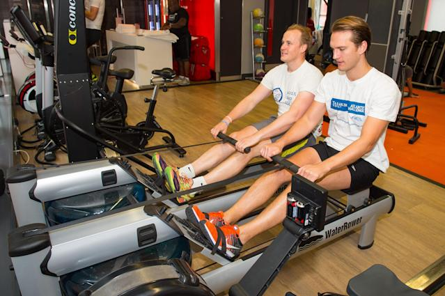 Pals set to complete 'ultimate triathlon' with 3,000 mile cross-Atlantic row