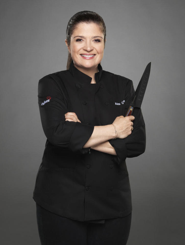 "Chef Alex Guarnaschelli is competing on the new season of ""The Next Iron Chef,"" premiering Sunday, 11/4 at 9 PM on Food Network."
