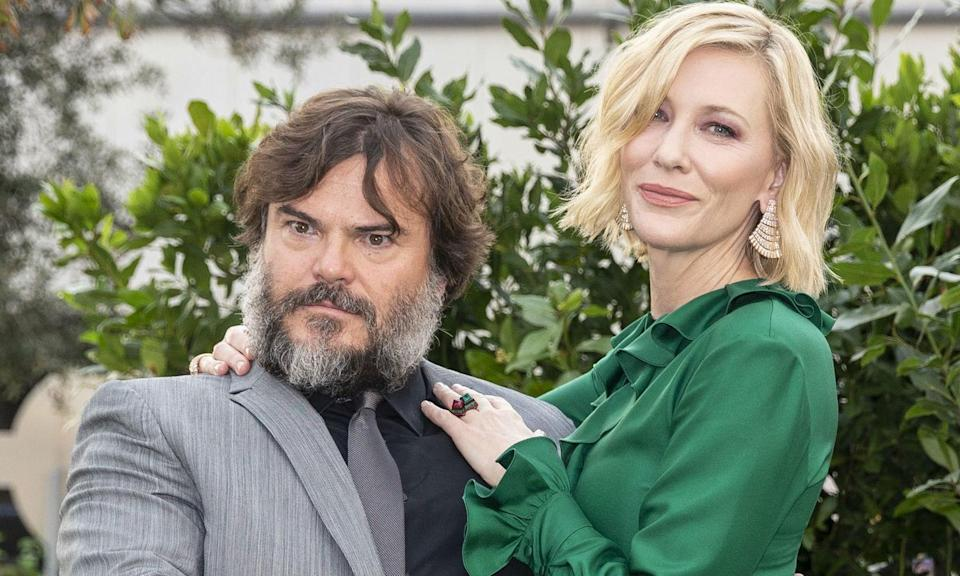 Cate Blanchett and Jack Black talk to Yahoo Movies UK about The House with a Clock in its Walls (PA)