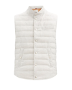 """<p><strong>Brunello Cucinelli</strong></p><p>matchesfashion.com</p><p><strong>$1445.00</strong></p><p><a href=""""https://go.skimresources.com?id=74968X1525079&xs=1&url=https%3A%2F%2Fwww.matchesfashion.com%2Fus%2Fproducts%2FBrunello-Cucinelli-High-neck-quilted-cotton-down-gilet--1402466"""" rel=""""nofollow noopener"""" target=""""_blank"""" data-ylk=""""slk:Shop Now"""" class=""""link rapid-noclick-resp"""">Shop Now</a></p><p>Brunello Cucinelli is known for its quality knitwear, but the quilted-cotton down gilet by the brand is just as good. </p>"""