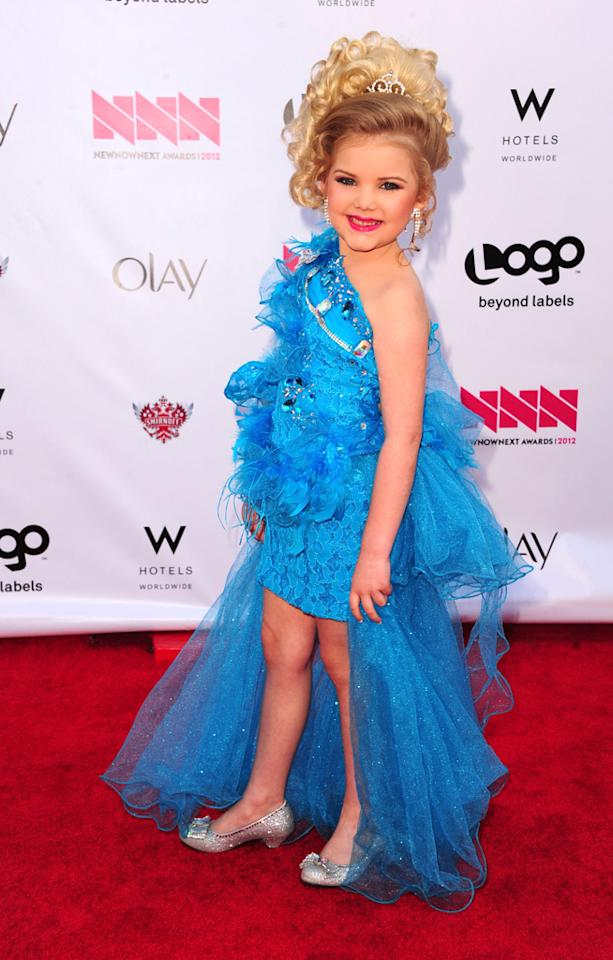 Eden Wood arrives at LOGO's NewNowNext Awards at Avalon on April 5, 2012 in Hollywood, California.