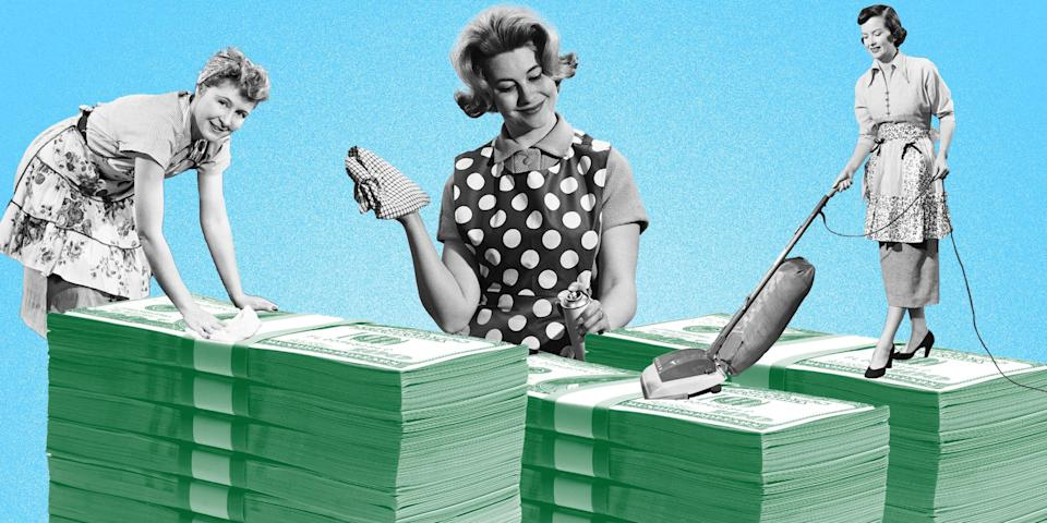 For many of us, 2020 shook up our normal spending routines and it's time for a good spring cleaning. (TODAY Illustration / Getty Images)