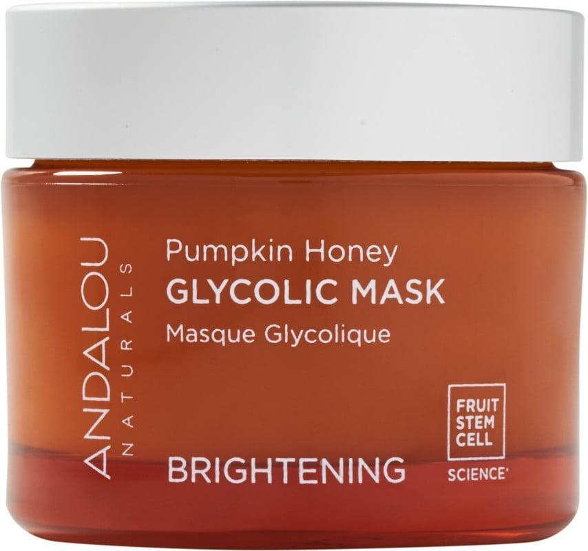 <p>Renew and resurface your skin with the gentle yet effective <span>Andalou Naturals Pumpkin Honey Glycolic Mask</span> ($16). It contains vitamin C, pumpkin puree, manuka honey, and glycolic acid.</p>