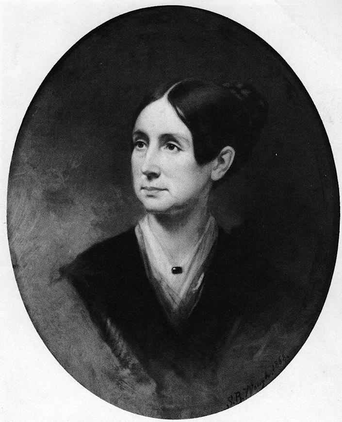 A circa 1868 portrait of Dorothea Dix. | Three Lions—Getty Images