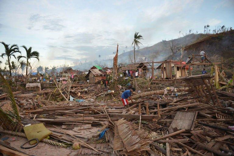 Typhoon Bopha destroyed nearly 115,000 houses and more than 116,000 people remain in crowded government shelters