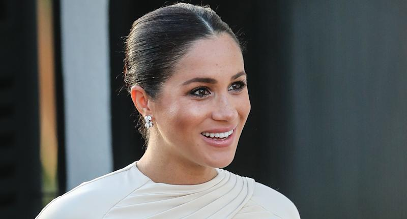 Meghan, Duchess of Sussex. (Photo by Pool/Samir Hussein/WireImage)