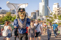 <p>Cosplayer at Comic-Con International on July 20 in San Diego. (Photo: Christy Radecic/Invision/AP) </p>