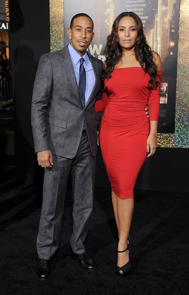 """<a href=""""http://movies.yahoo.com/movie/contributor/1804022336"""">Ludacris</a> at the Los Angeles premiere of <a href=""""http://movies.yahoo.com/movie/1810219047/info"""">New Year's Eve</a> on December 5, 2011."""