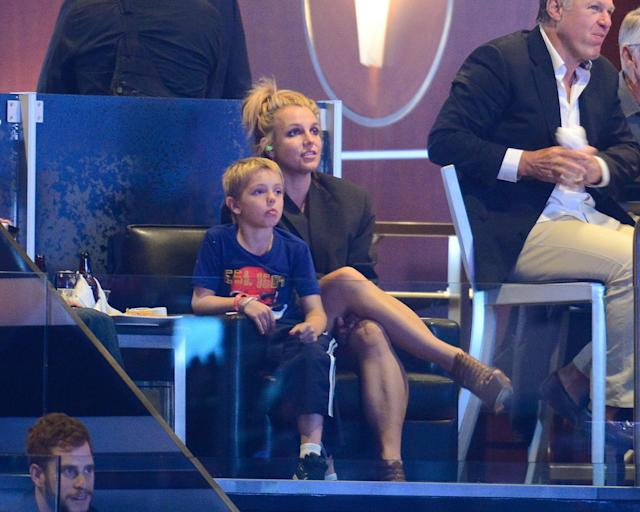 Britney Spears shares her support for Kings, dismays Oilers fans in the process