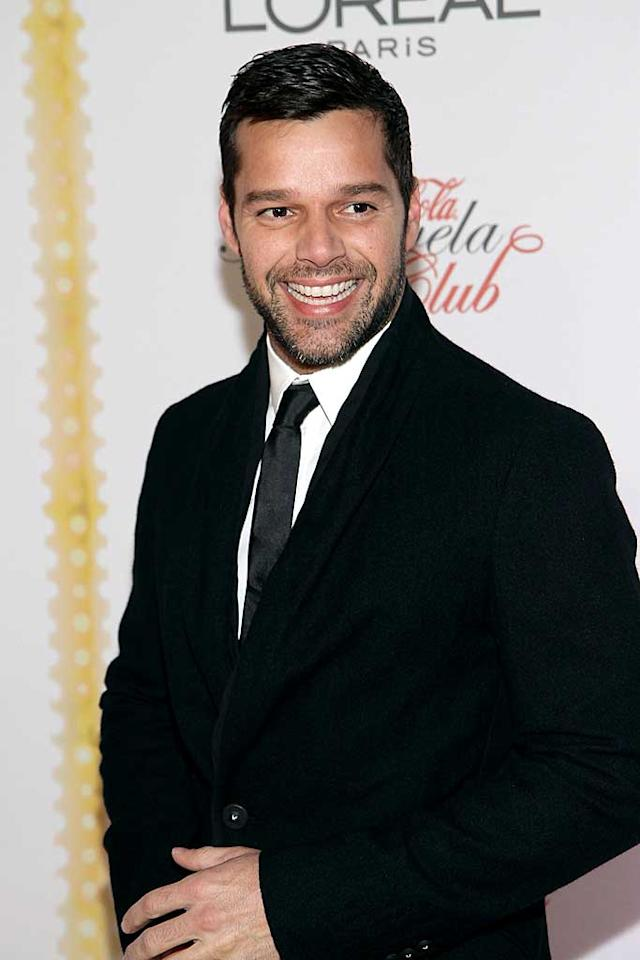 "December 24: Ricky Martin turns 39 Alexander Tamargo/<a href=""http://www.wireimage.com"" target=""new"">WireImage.com</a> - December 9, 2010"