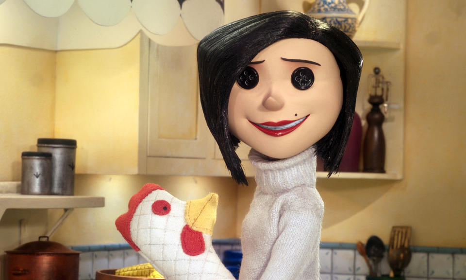 Teri Hatcher voices the Other Mother in 'Coraline' (Photo: Focus Features/Courtesy Everett Collection)