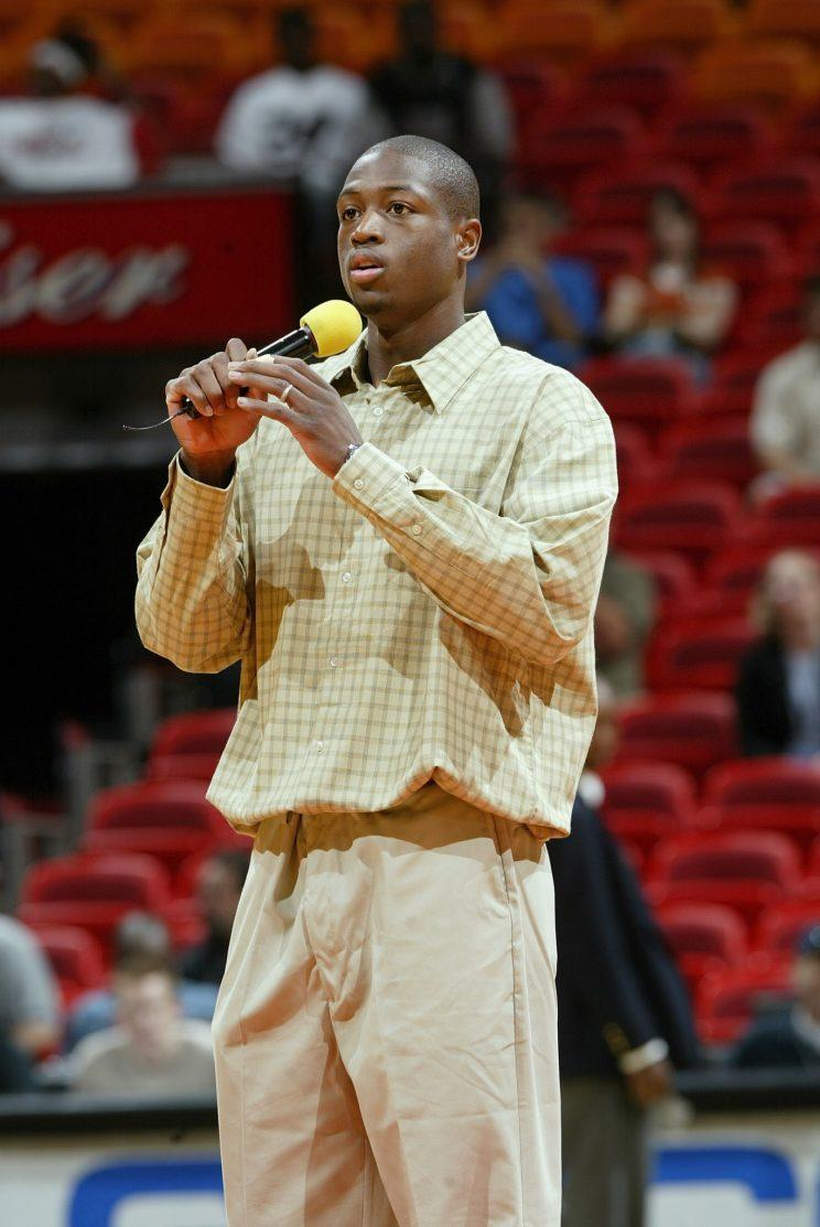 Dwyane Wade's style has evolved since 2003.