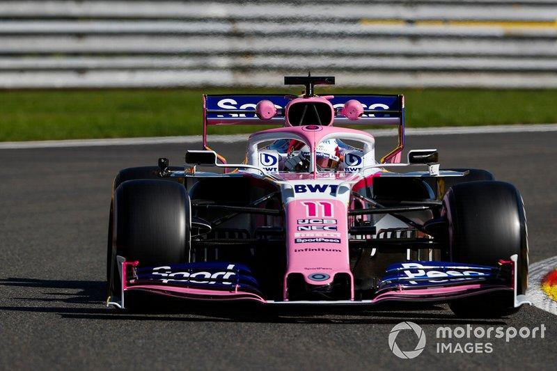 """SportPesa Racing Point F1 RP19 (2019)<span class=""""copyright"""">Zak Mauger / Motorsport Images</span>"""