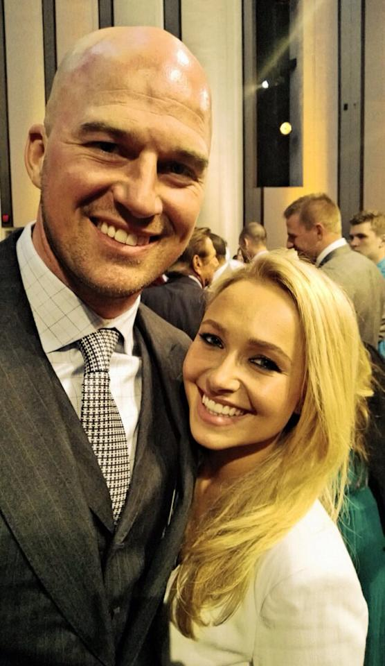 "Hayden Panettiere and Matt Hasselbeck ""#goodcompany"" tweeted the ""Nashville"" star from the NFL Honors awards show Saturday night hosted by Alec Baldwin."