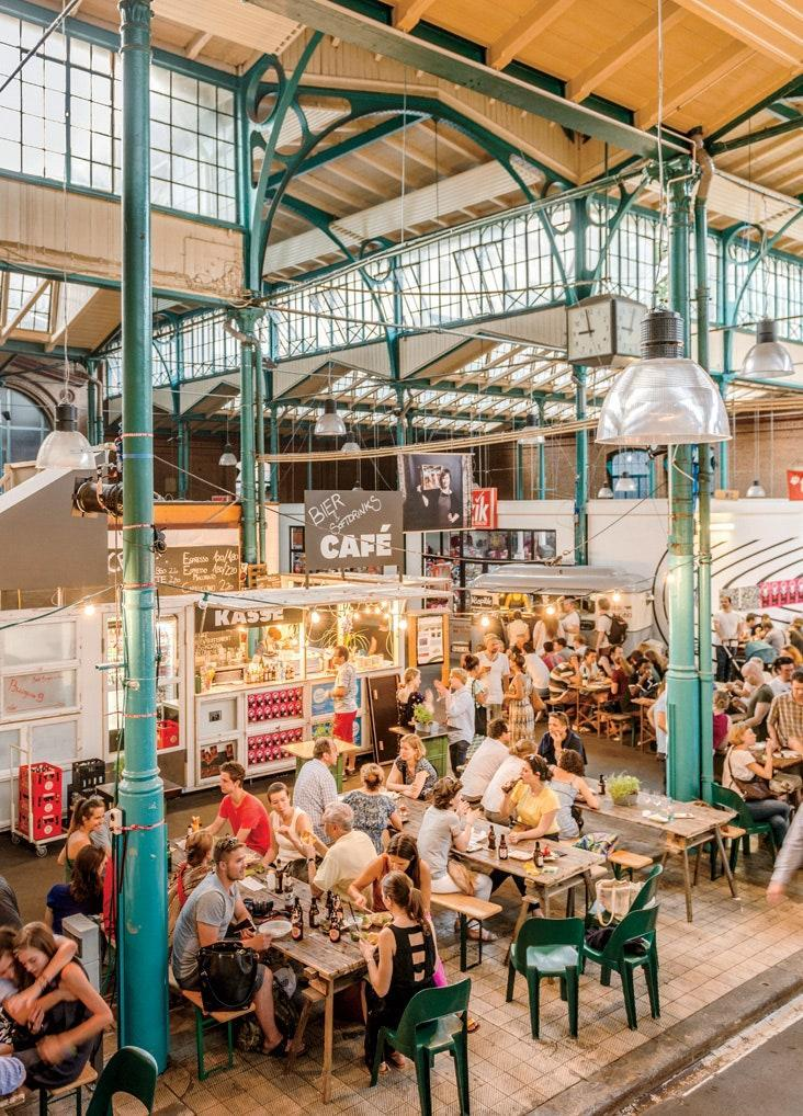 Markthalle Neun is a great way to sample Berlin's best restaurants, present and future.