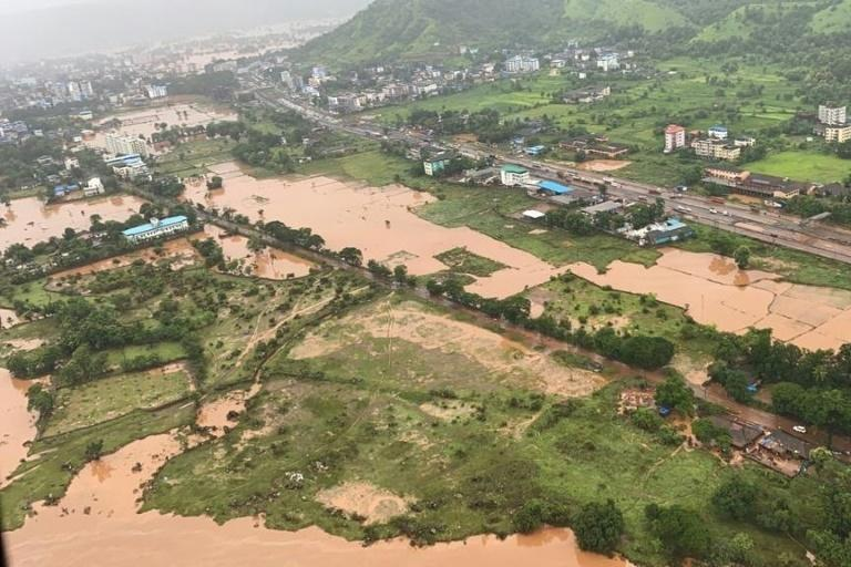 Parts of western India have been afflicted by severe rain