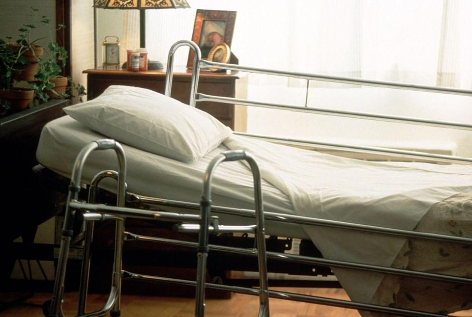"""<p>This is especially true at nursing homes, which often have """"back door"""" policies that require funeral directors to sneak through """"like ninjas"""" for pick-ups, says Wilde. But residents inevitably """"come out of their rooms and touch the stretcher or ask, 'Who is this? When did it happen?'"""" </p><p>""""It's healthy for residents who are in their right minds to see it,"""" he explains. """"If I were in a nursing home and my friends were whisked away secretly after their deaths, I would think nobody is going to remember<em> me</em> after I die.""""<br></p>"""