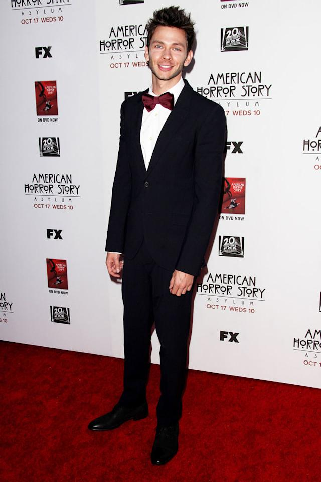 """Devon Graye attends the """"American Horror Story: Asylum"""" premiere held at Paramount Studios on October 13, 2012 in Hollywood, California."""