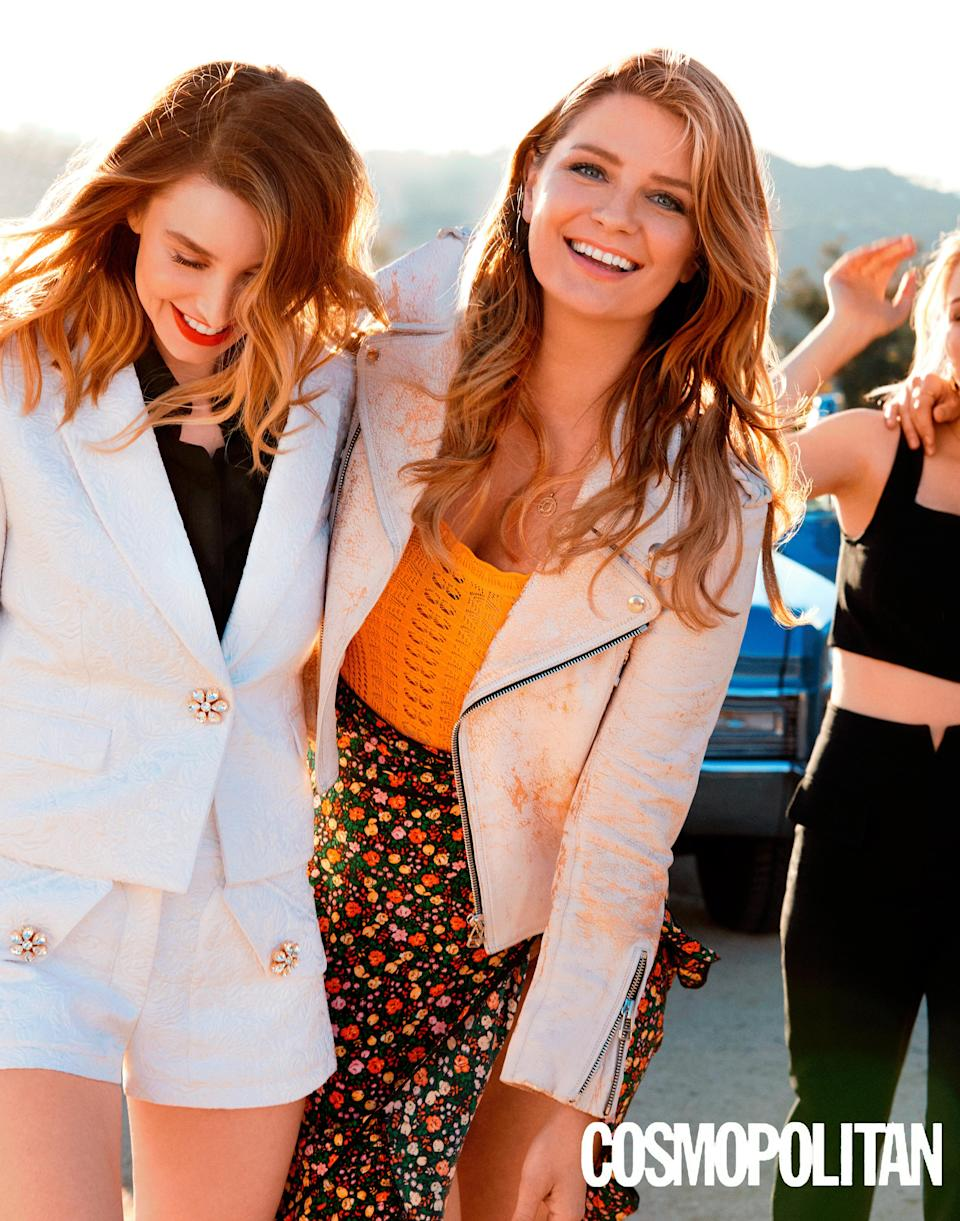 Mischa Barton, right, joins the cast of