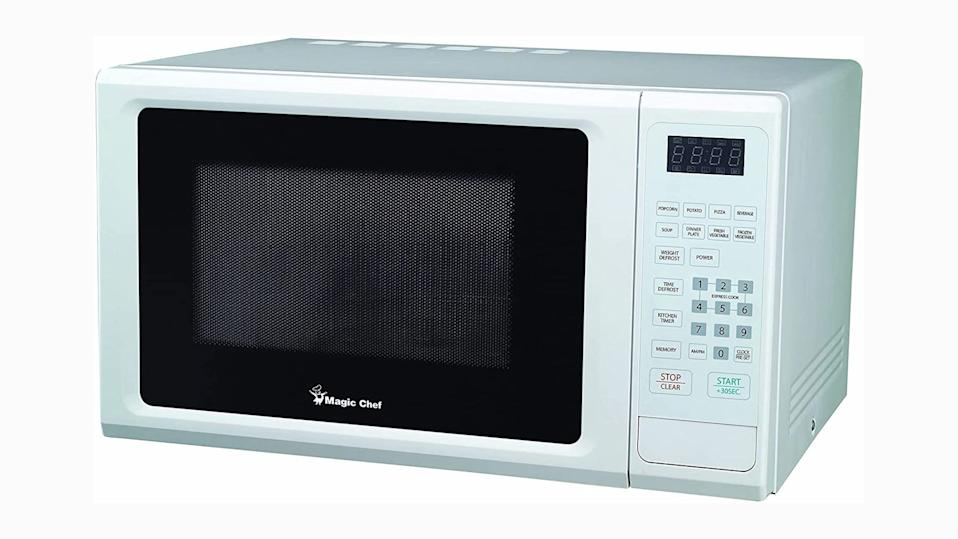 This countertop microwave is similar to our favorite affordable model.