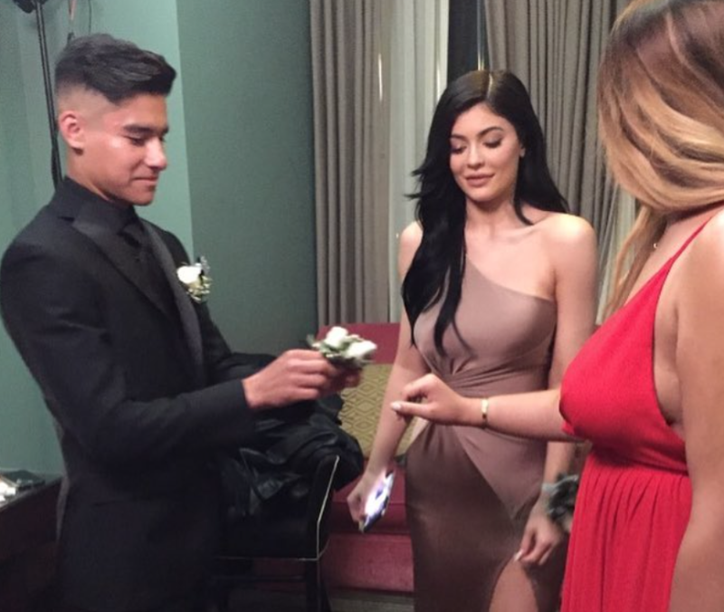 Kylie Jenner's prom date really wishes she would call him