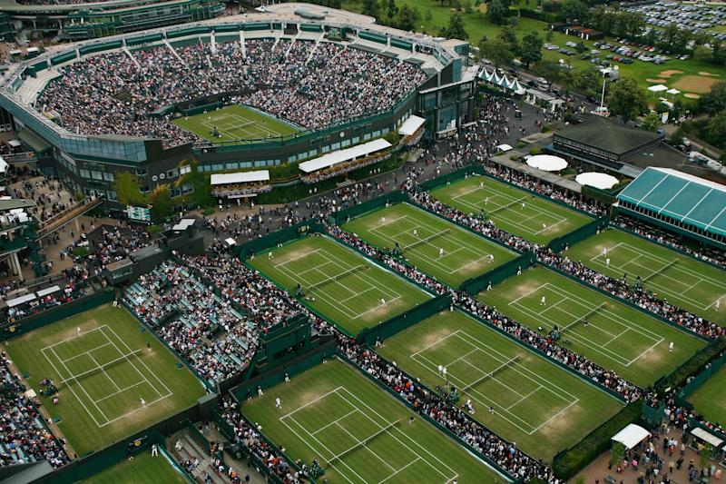 Branching out | The All England Lawn Tennis Club has been in talks with the neighbouring Wimbledon Park Golf Club about taking over its lease so it can expand over the land occupied by the 73-acre course: Glyn Kirk/AFP/Getty Images